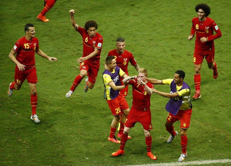Belgų triumfas
