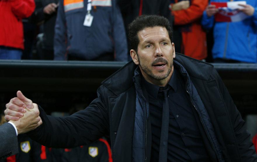 Diego Simeone nesuvaidintos aistros