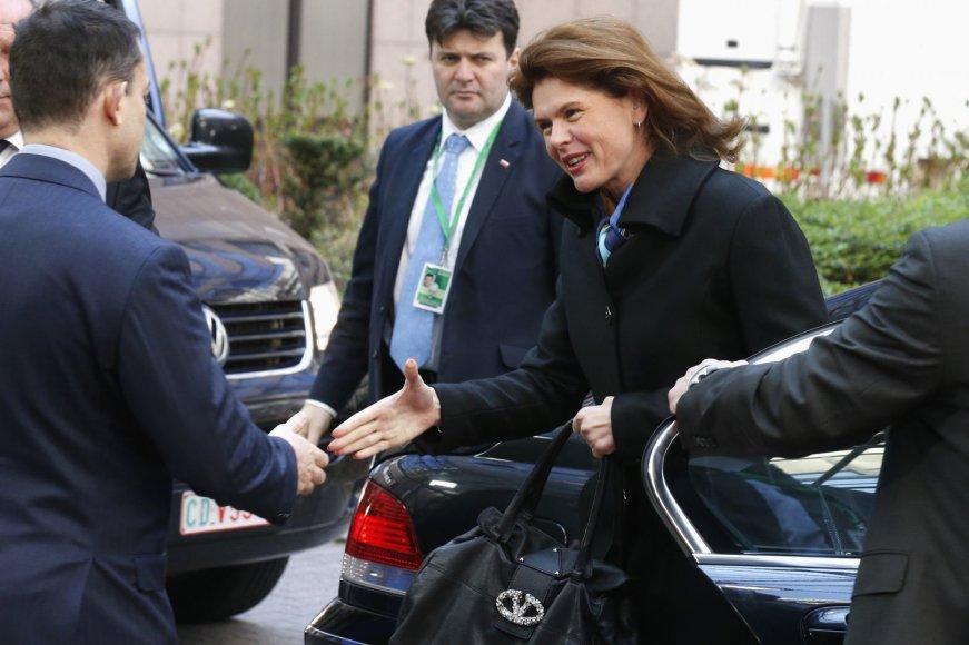 Slovėnijos ministrė pirmininkė Alenka Bratusek