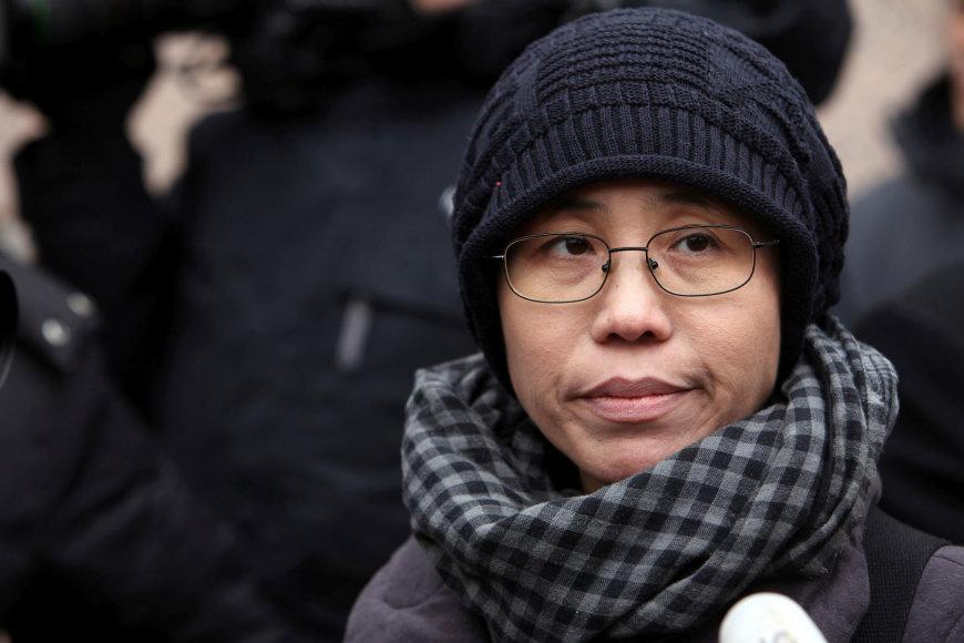 Mirusio Liu Xiaobo žmona Liu Xia