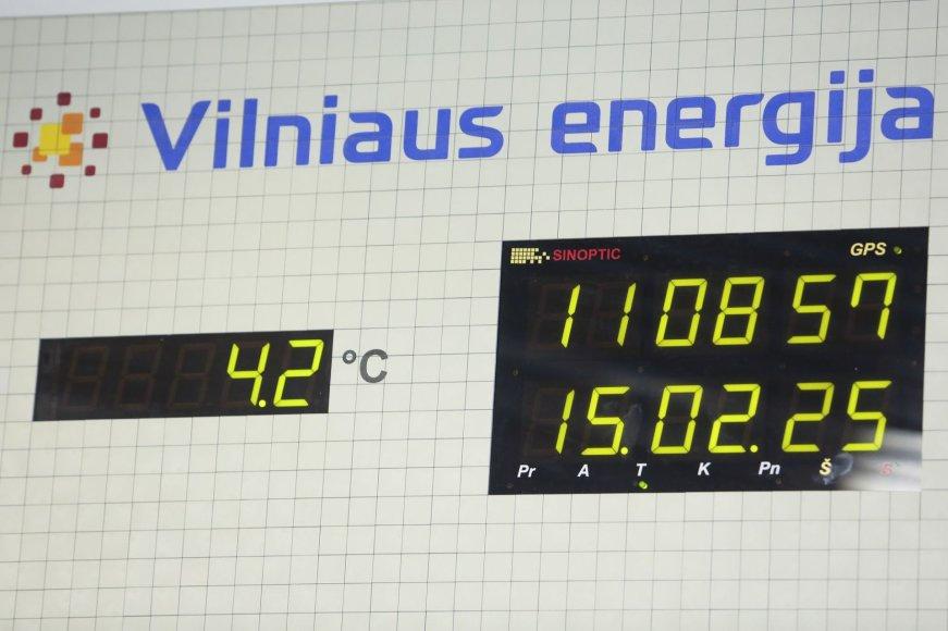"""""""Vilniaus energijos"""" patalpose"""