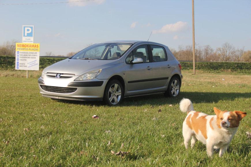 "Naudotas ""Peugeot 307"""