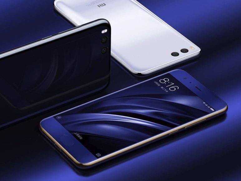 """Xiaomi Mi6"" išmanusis telefonas"
