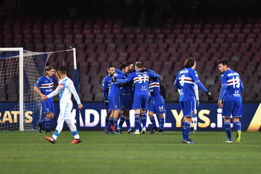 "Genujos ""Sampdoria"" futbolininkai"