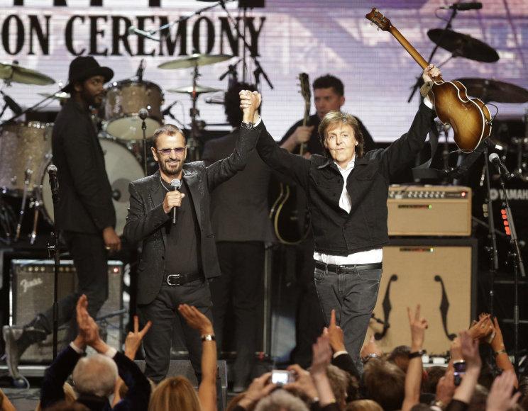 Ringo Starras ir Paulas McCartney