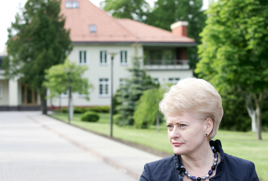 Dalia Grybauskaitė Turniškėse