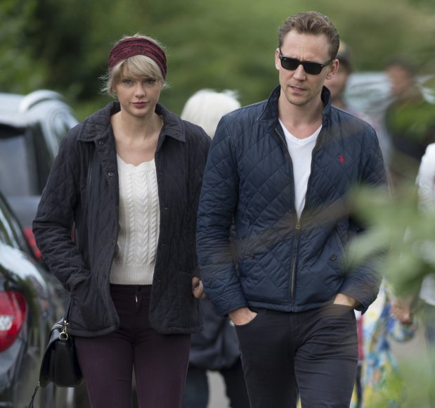 Taylor Swift ir Tomas Hiddlestonas