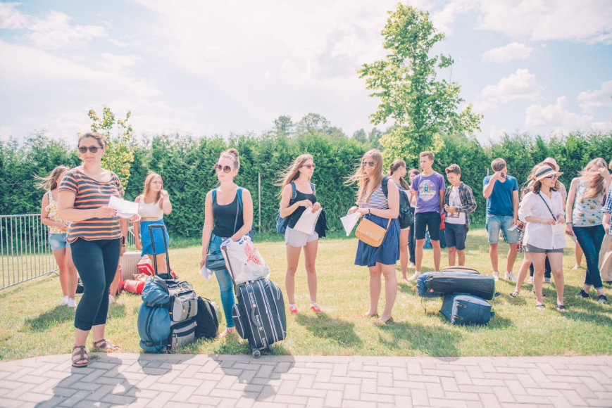 Pasaulio lietuvių jaunimo susitikimo pradžia