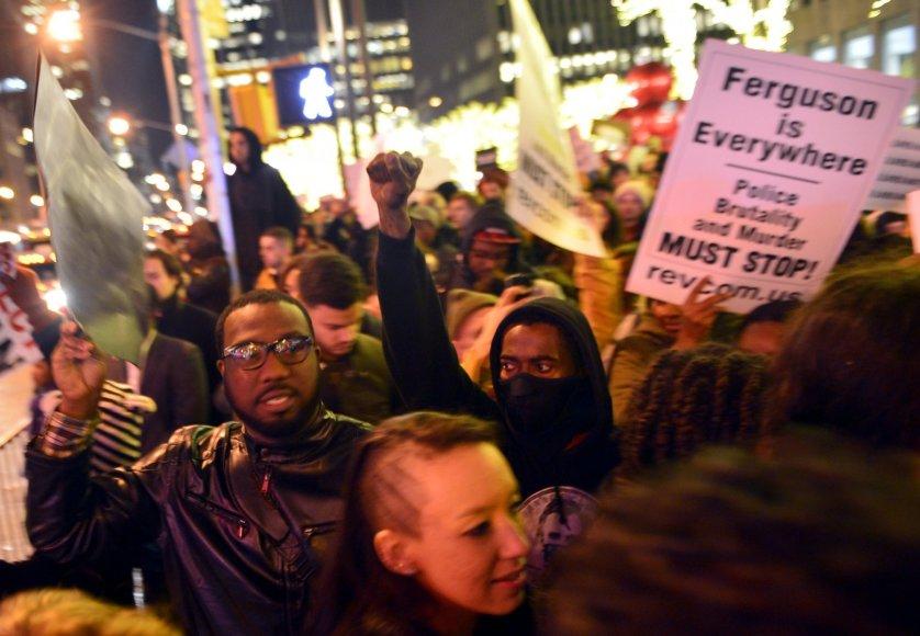 Protestas Niujorke