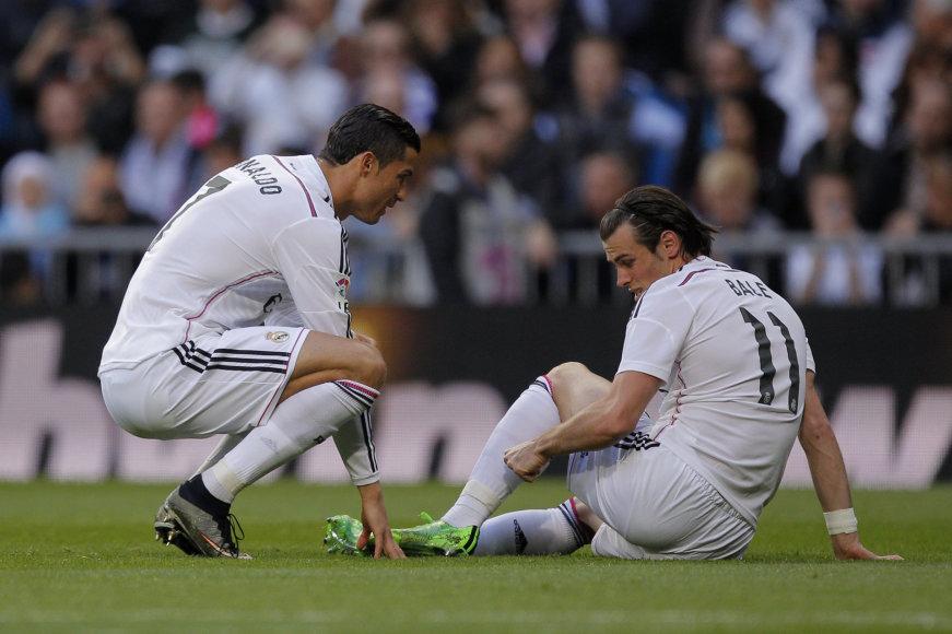 Cristiano Ronaldo ir Garethas Bale'as