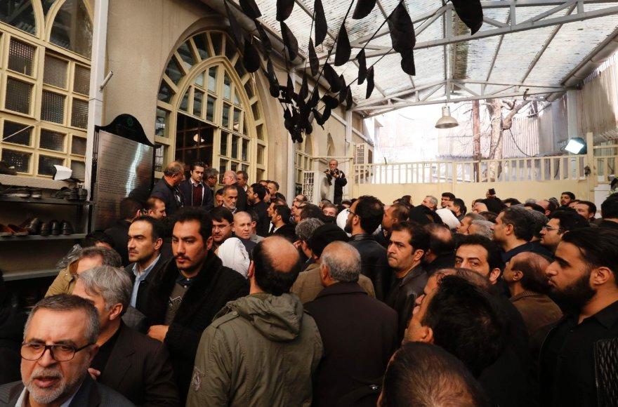 Buvusio Irano prezidento Akbaro Hashemi Rafsanjani laidotuvės