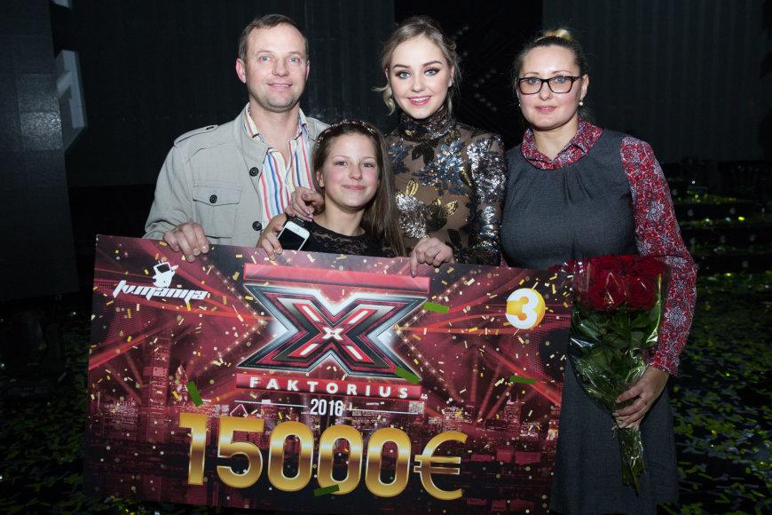 Luko Balandžio / 15min nuotr./Iglė Bernotaitytė su šeima