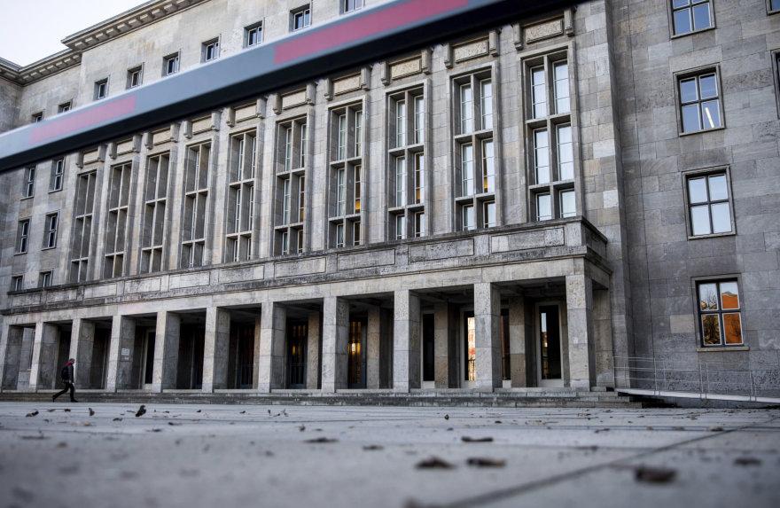 Į Vokietijos finansų ministeriją buvo atsiųstas sprogmuo