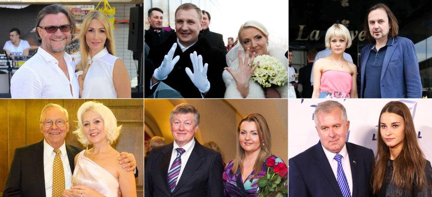 Amžiaus skirtumas žinomoms Lietuvos poroms meilei netrukdo