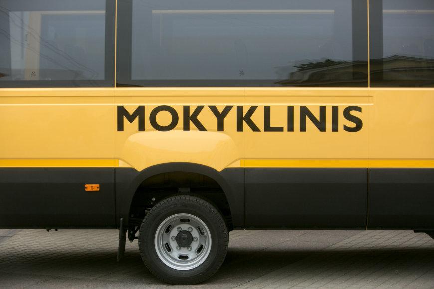 Juliaus Kalinsko / 15min nuotr./Mokyklinis autobusiukas
