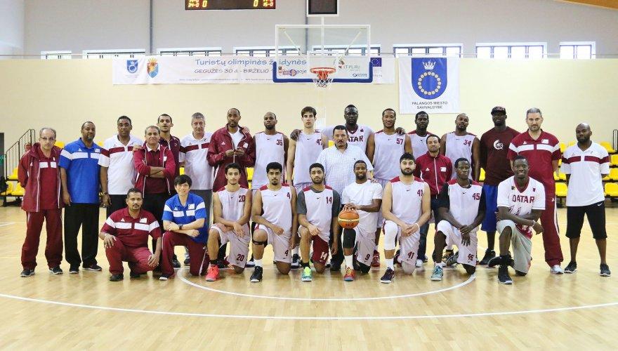 Kataro krepšinio rinktinė