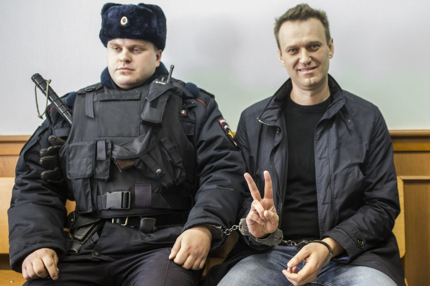 Aleksejus Navalnas išėjo į laisvę