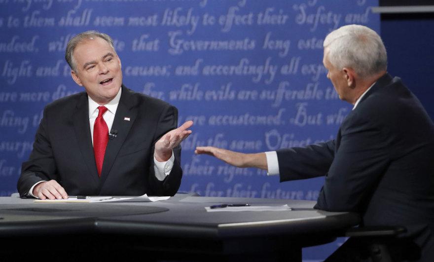 JAV viceprezidentų debatai