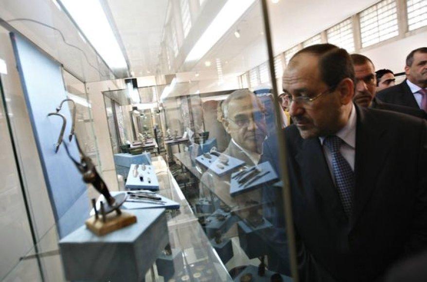 Irako ministras pirmininkas Nuri al-Maliki