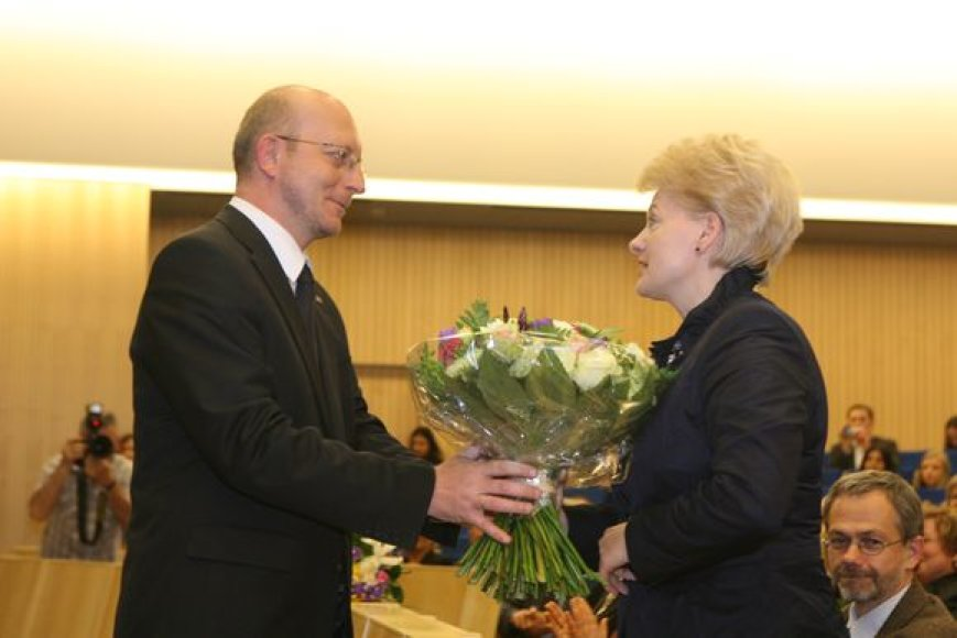 Arūnas Valinskas ir Dalia Grybauskaitė