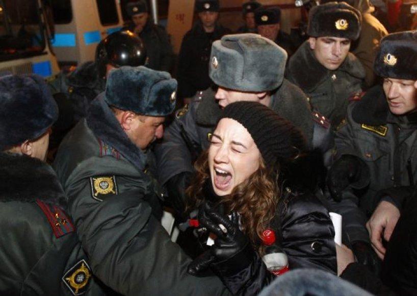 Suėmimai Maskvoje gruodžio 31 d.