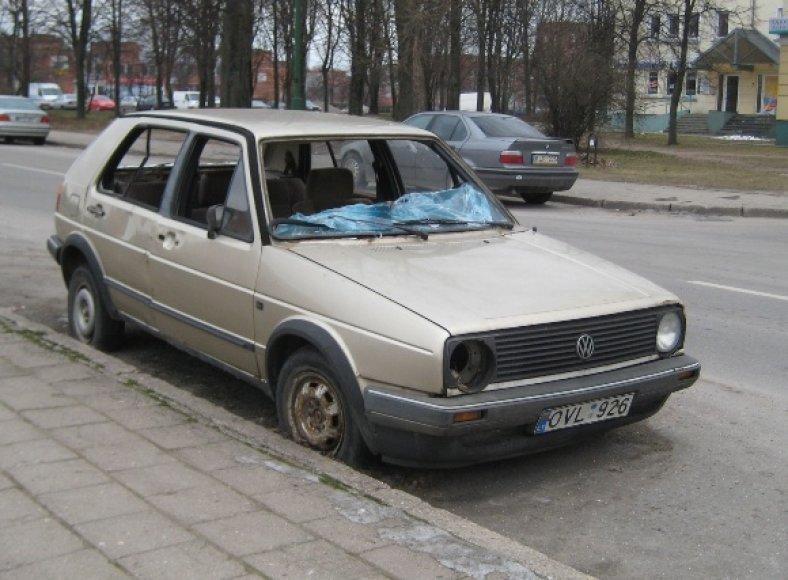 Fotopolicija: VW Golf