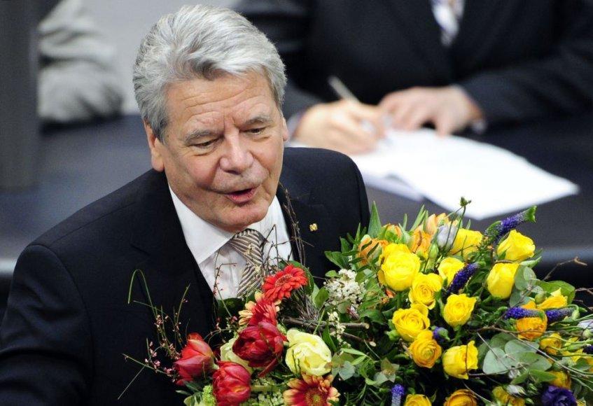 Joachimas Gauckas išrinktas Vokietijos prezidentu