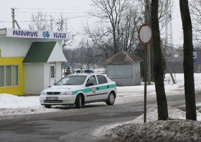 Fotopolicija: ką patruliai veikia po ženklu