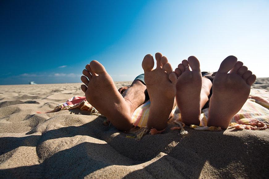 Paplūdimio džiaugsmai