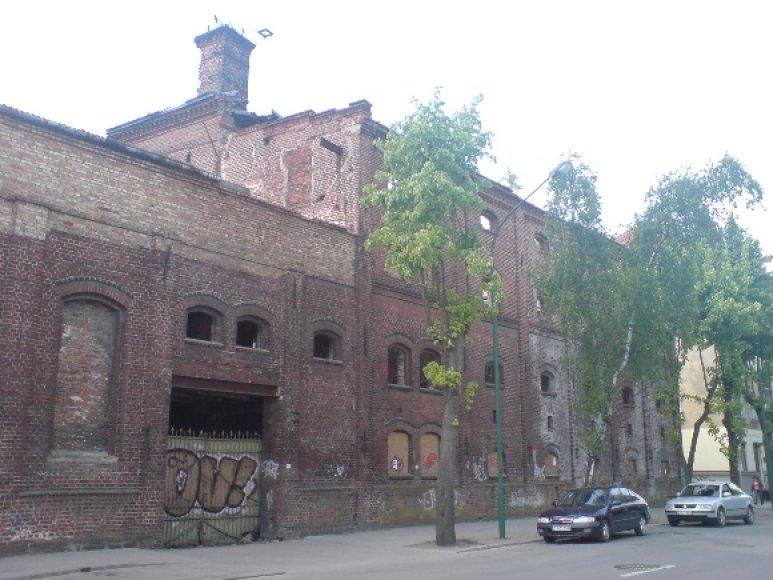 Apleisti Klaipėdos pastatai