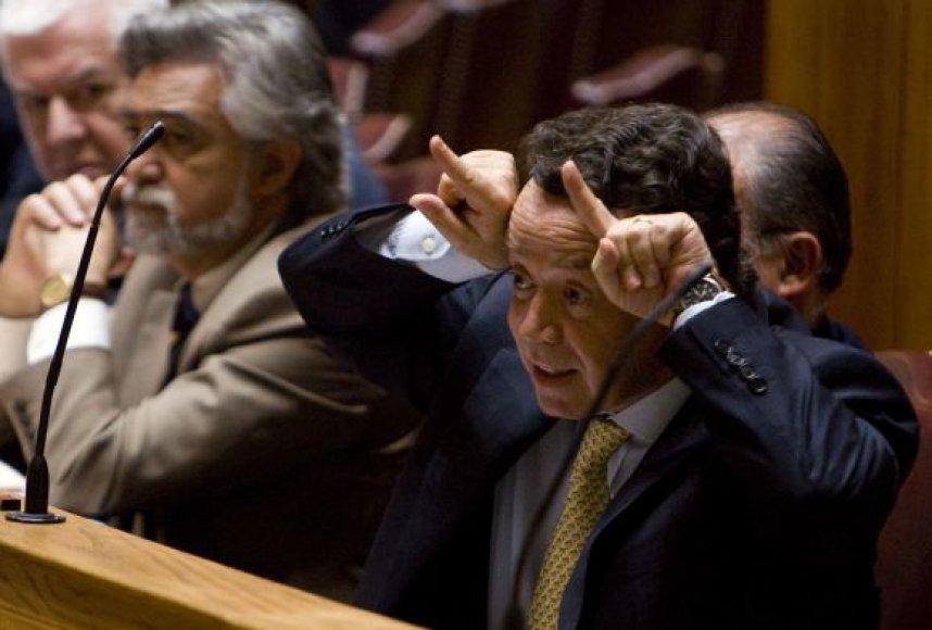 Portugalijos ekonomikos ministras Manuelis Pinho