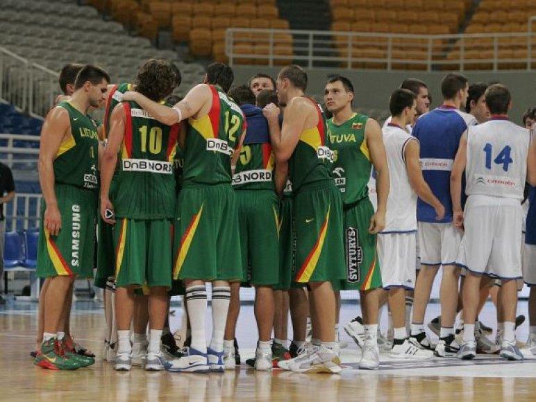Rungtynės Lietuva-Serbija