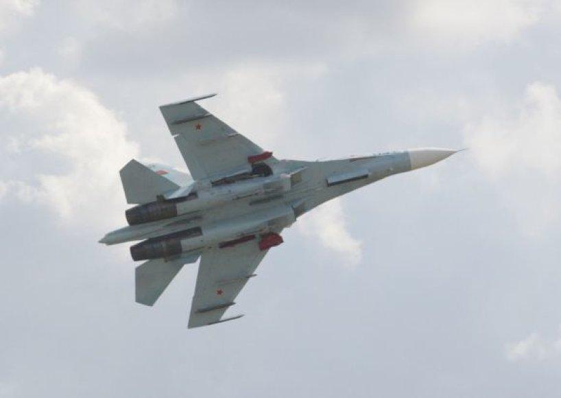 Naukintuvas Su-27 sudužęs Lenkijoje