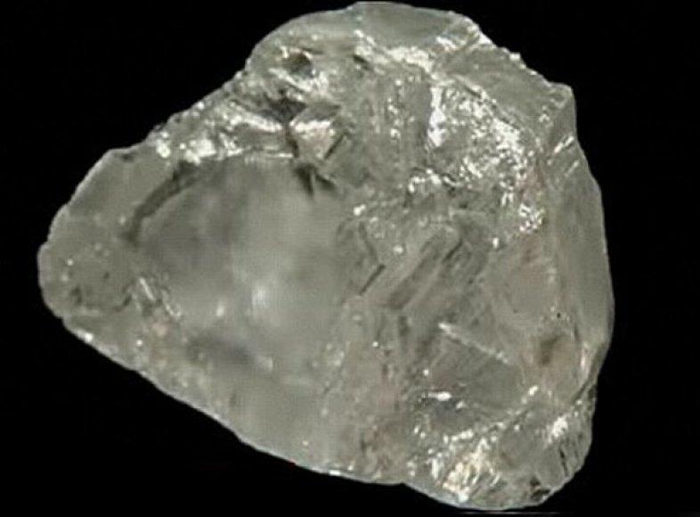 Deimantas, rastas Pietų Afrikoje