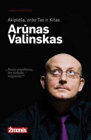 Arūno Valinsko knygos viršelis