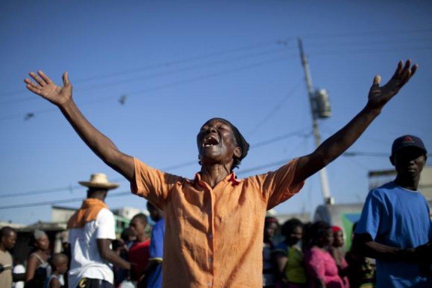 Žemės drebėjimas Haityje