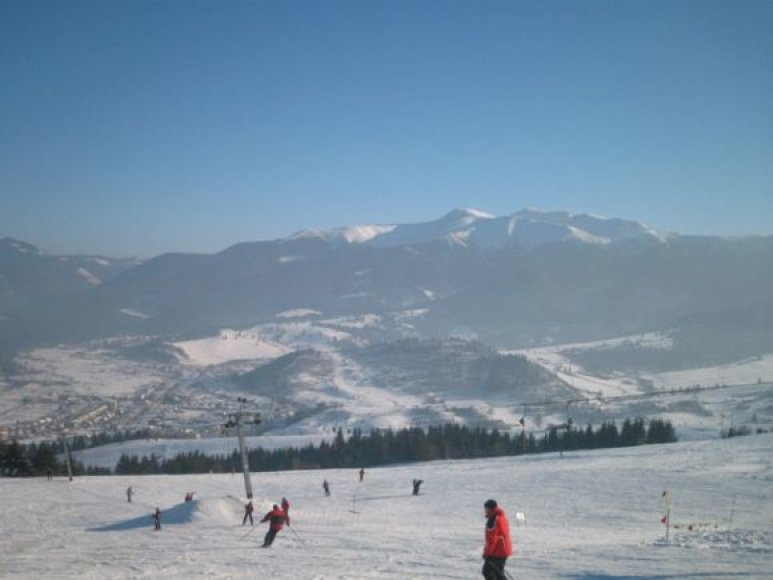 Slidinėjimas Zuberece, Slovakijoje