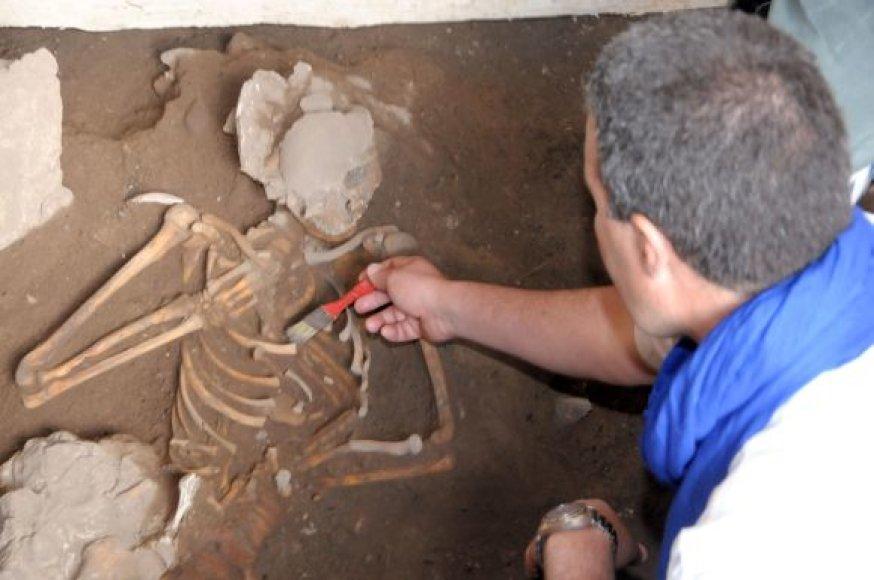 Rastas skeletas Maroke