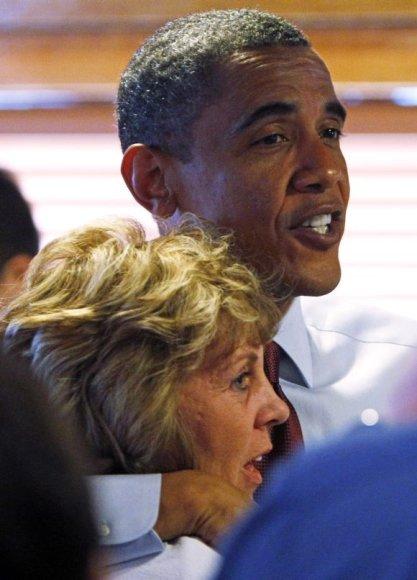 Luann Haley ir Barakas Obama