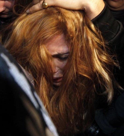 Policijos suimta gražuolė Angie Sanclemente Valencia