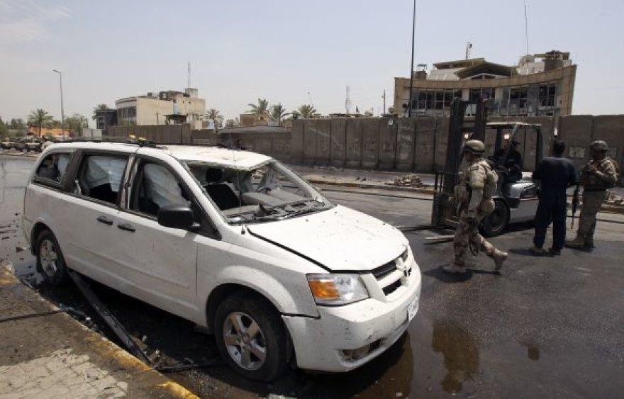 Situacija Bagdade po sprogimo