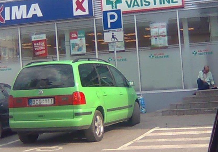 "Fotopolicija, mįslingas ""VW Sharan"""