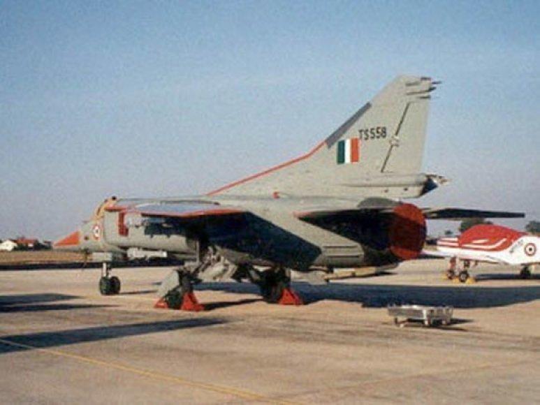 Indijos naikintuvas MIG 27