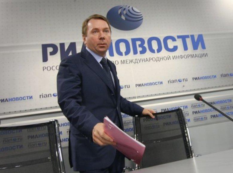 Pretendentas į Maskvos mero postą Vladimiras Kožinas