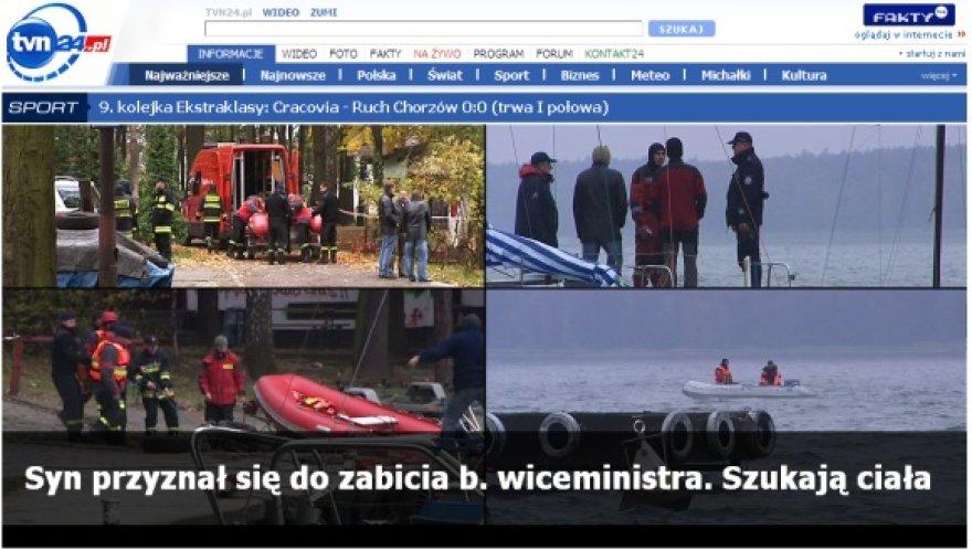 Žuvusio Lenkijos ministro paieškos