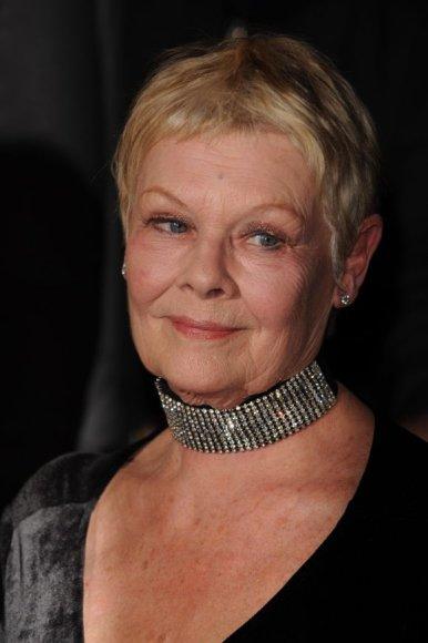 Aktorė Judi Dench