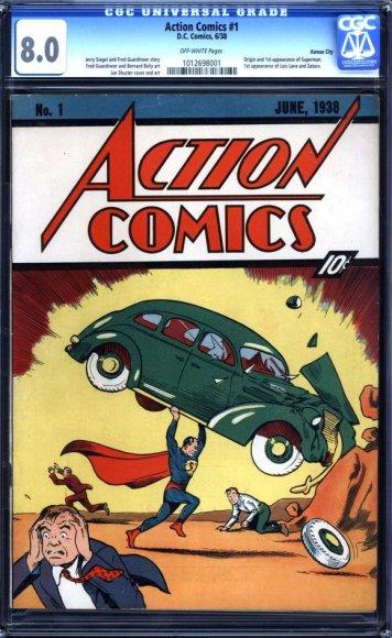 Action comics (komiksų žurnalas)