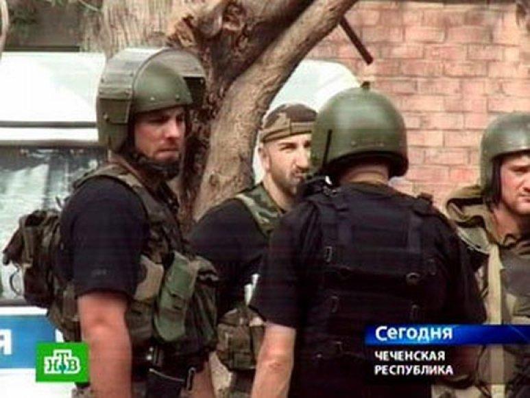 Rusų karinė operacija Čečėnijoje