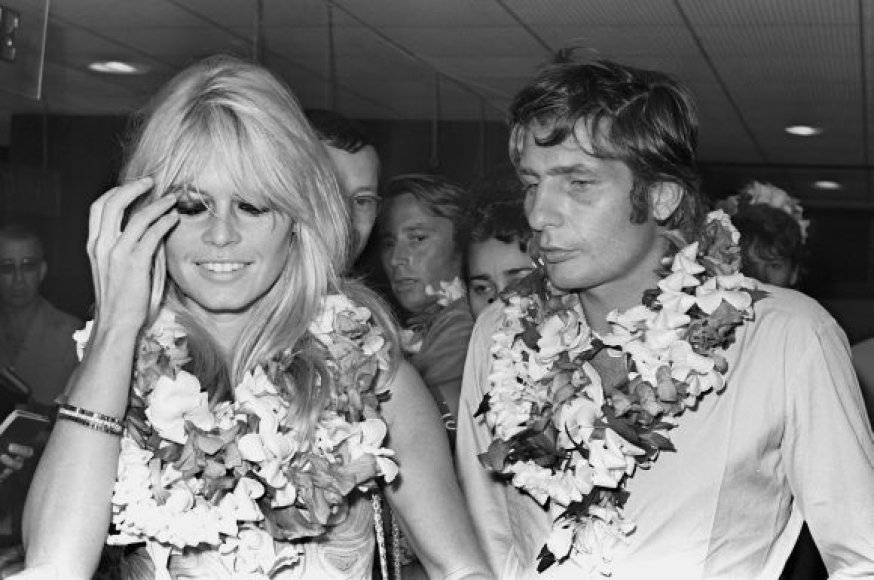Brigitte Bardot ir Gunteris Sachsas