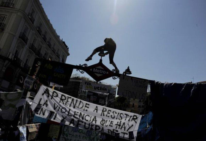 Protestai Ispanijoje